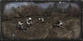 Tajny obóz na bagnach