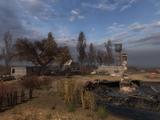 Руины деревни