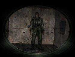 Убити військовослужбовця kill quest