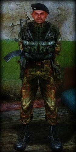 Army Commander armor