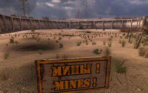 Minefield in Yanov