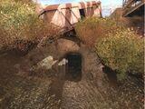 Пещера под мостом