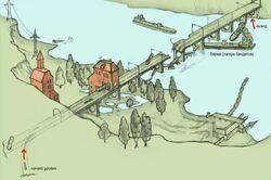 Міст через річку Прип'ять(концепт-арт)