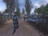 Защитить лагерь новичков от наёмников