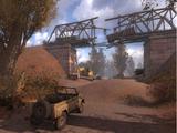 Terraplén del ferrocarril