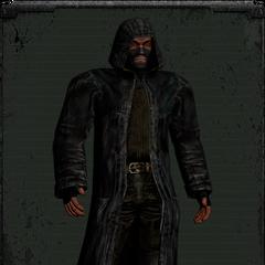 Skórzany płaszcz wariant 2
