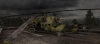Ми-24 на базе Долга в ЧН-1