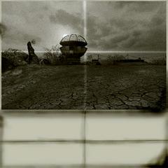 Generatory na starej fotografii