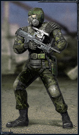 Cop pers military