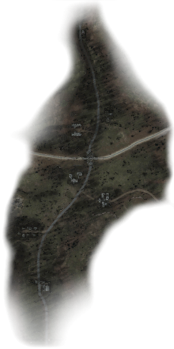 Кордон мапа