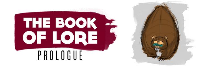 Book of Lore Header - Prologue