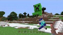 Minecraft Xbox- Creeper Coaster 54