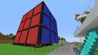 Giant Rubix Cube Stampylongnose Wiki Fandom