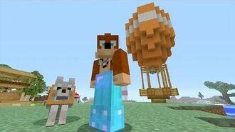 Minecraft Xbox - Hot Air Balloon -199-