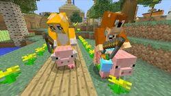 Minecraft Xbox - Pig Race 189