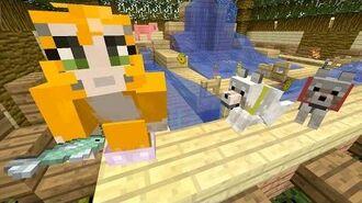 Minecraft Xbox - Fishy Fountain -397-