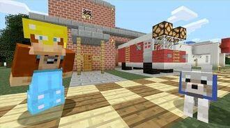 Minecraft Xbox - Fire Truck