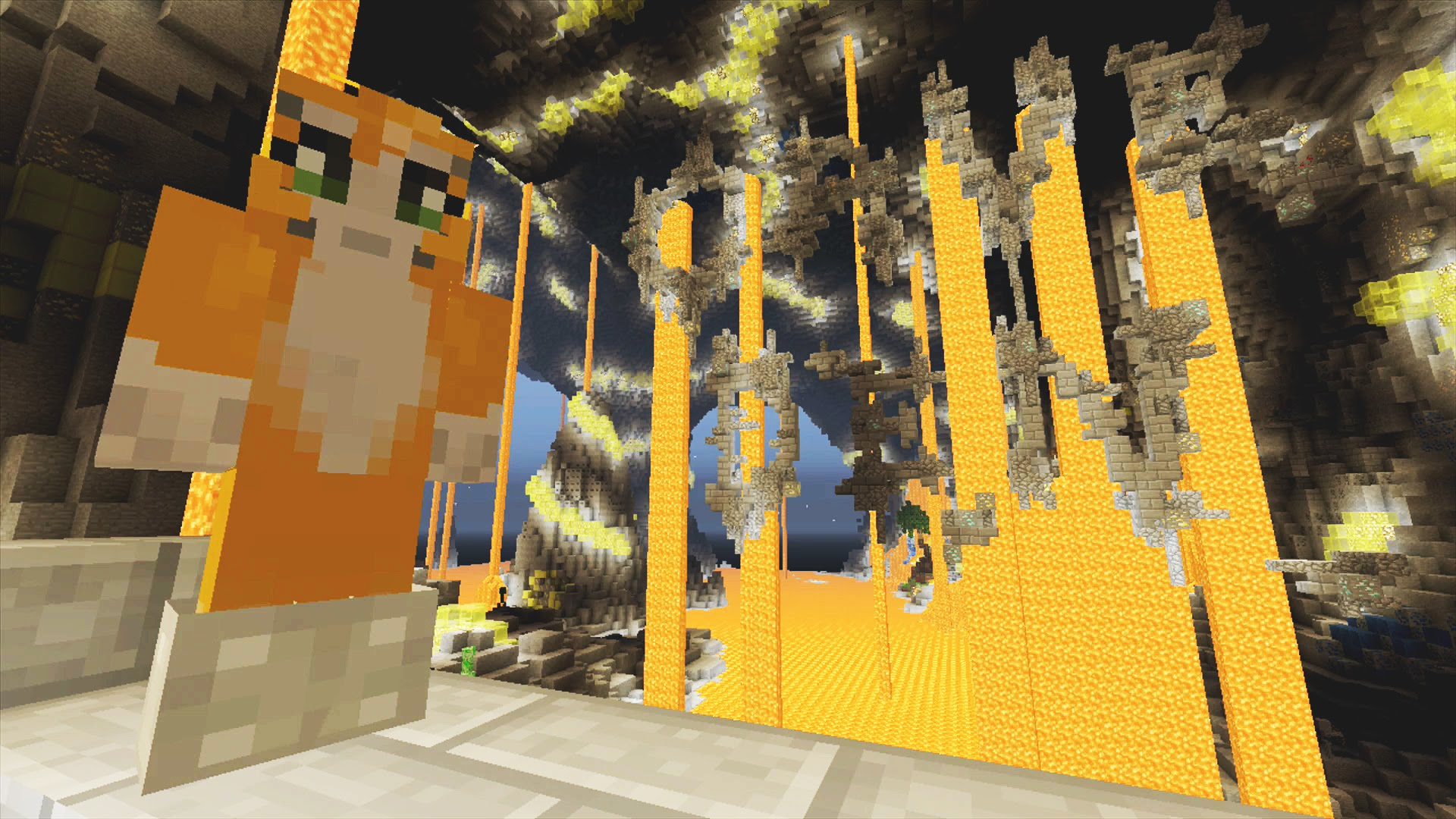 Cave den stampylongnose wiki fandom powered by wikia a minecraft series by stampy gumiabroncs Images