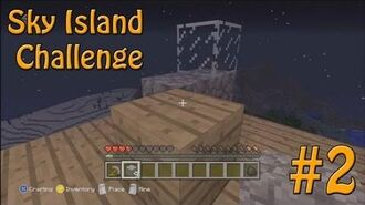 Minecraft Xbox - Sky Island Challenge - Building A House! -2-