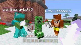 Minecraft Xbox - The Friendly Creeper -53-