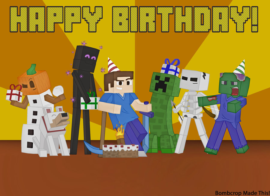 Image minecraft birthday card picture by bombcrop d7qpg0kg minecraft birthday card picture by bombcrop d7qpg0kg bookmarktalkfo Gallery
