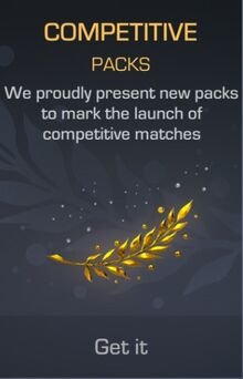 Competitive Pack Advertisement