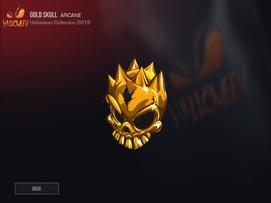 HSP - GOLD SKULL