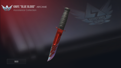 Knife BlueBlood