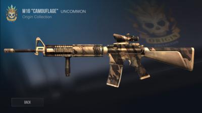 M16 Camouflage