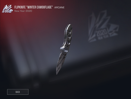 "FlipKnife ""Winter Camouflage"""