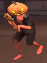 T halloween player model