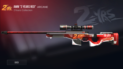 AWM 2 Years Red