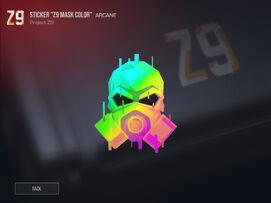 Z9 Mask Color