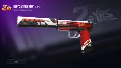 USP 2 Years Red