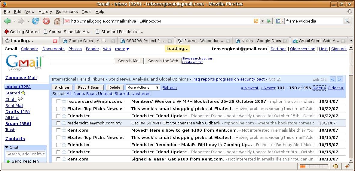 Project 1: Gmail | Stanford University Wiki | FANDOM powered by Wikia