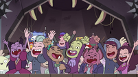 S4E24 Mewmans and monsters cheer for Globgor