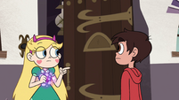 S4E7 Babs' door opens for Star and Marco