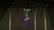 S2E20 Buff Frog kicking bald eagle in the beak