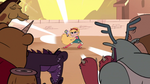 S1E3 Ludo's minions charge at Star