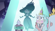 S3E2 Queen Moon feeling sorry for Eclipsa
