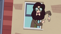S2E24 Bearded hipster dude points at his watch
