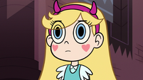 S3E8 Star Butterfly staring ahead at Marco
