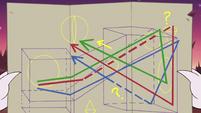 S3E22 Hekapoo's map of rogue dimensional portals