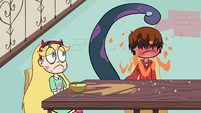 S1E5 Marco drenched in orange juice