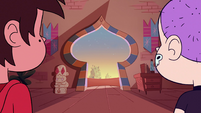 S2E3 Marco and Star watch Tom leave