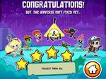 Disney XD Hero Trip congratulations screen