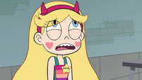 S2E16 Star Butterfly groaning with frustration