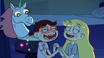 S2E17 Star and StarFan13 laughing together
