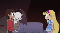 S4E13 Star and Marco looking confused