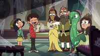 S4E24 Marco inviting Slime and the Spiderbites